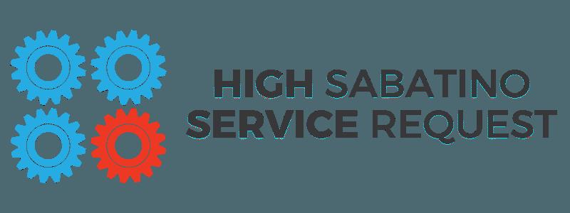 High Sabatino Service Request
